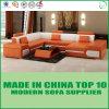 현대 디자인 가죽 마이아미 최고 판매 소파