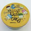 Karikatur-Süßigkeit-Zinn-Kasten stellt ringsum Biskuit-Zinn ein