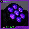 Indicatori luminosi capi mobili del randello di notte della discoteca del fascio 7X12 della fase LED