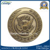 Kundenspezifische antike Goldsilber-Kupfer-Sport-Metallmünze