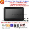 Navigateur portatif du véhicule GPS de dans-Tableau de bord de la vente chaude 4.3 d'usine  avec le cortex A7, 800MHz CPU, carte de bras d'Igo de charge initiale ; Émetteur FM ; Bluetooth mains libres ; ISDB T TV