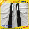 Espulsione di alluminio di profilo della costruzione con l'alto nero chiaro di elettroforesi