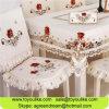 Met de hand gemaakt Cutwork Geborduurd het Dineren van de Polyester Tafelkleed voor Decoratief Huis