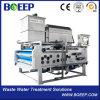 Equipo de la fábrica para la prensa de filtro del lodo de la correa de la venta para el tratamiento de aguas residuales