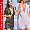 Маскировка Swimwear V-Шеи 2 цветов прозрачная