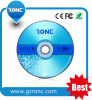 Amostras livres 4.7GB 120min 16X DVD-R de matéria- prima de 100%