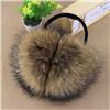 2016 realer Fox-Waschbär Rex Kaninchen-Pelz-preiswertere Ohrenschützer-Kopfhörer-/Ear-Muffen für Winter-/Winter-Form-Ohrenschützer
