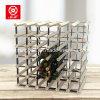 Nouvelle promotion 42 bouteilles Wine Rack Metal Wood Wine Rack
