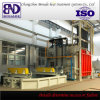 Grande linha de produção do tratamento térmico da fornalha de caixa do Forklift