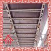 Encofrado de acero concreto de la losa del andamio para la construcción