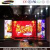 Visualizzazione di LED dell'interno professionale di colore completo di disegno P6