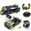 zukünftige Platz-Lieferungs-laufendes Auto-Krieg-Waffe X-Männer Baustein-Vorgangs-Abbildung Playmobil Auto-Spielwaren der Polizei-1486605-493PCS