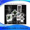 プラスチックJewelry/Uのディスク3Dのディスプレイ・ケース