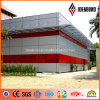 4ft*8ft 4mm Exterior Wall PVDF Paint Aluminum Cladding