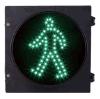luz de sinal verde do tráfego do diodo emissor de luz da caminhada de 300mm para o cruzamento Pedestrian