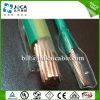 Condutor contínuo verde do Cu de Thhn de 6 calibres fio elétrico do único