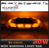 Vehichles Linear Lensのためのこはく色のEmergency Mini Light Bar