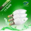 bulbo LED de 3W 5W 240lm 400lm E14 con el CE de RoHS