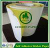 Papel auto-adhesivo de la etiqueta engomada de la venta caliente