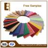 Panneau acoustique de amortissement de fibre de polyester de bruit respectueux de l'environnement coloré intérieur