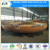 カーボンSteel Handrail Flange Covers Size 5200mm Diameter