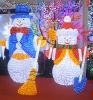 Boneco de neve claro decorativo do Natal do diodo emissor de luz do feriado