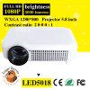 De LED plein HD projecteur des mini 3000 lumens, projecteur de multimédia