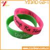 Wristband su ordinazione del silicone di Debossed di marchio per la promozione