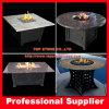 Яма пожара гранита природы покрывает верхние части таблицы для напольной мебели
