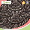 Nylon del tessuto del merletto del cavo dell'Africa e tessuto del merletto del George del cotone
