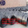 Di fabbrica di prezzi nastro metallico temprato il nero delicatamente per rullo