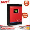 고주파 5kVA 4kw 태양 에너지 변환장치 공기 상태