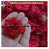Flor de seda Headwear das rosas vermelhas artificiais para a decoração do banquete de casamento (G8101)