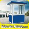 Kiosque en acier enduit de garantie de poudre durable