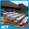 4-fila de aluminio de gimnasia blanqueador con tablones de aluminio