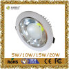 Venta caliente 18W Luna MAZORCA LED Downlight de 6 pulgadas con CE
