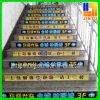 Etiquetas engomadas modificadas para requisitos particulares de la promoción de la etiqueta engomada del piso de la exhibición