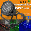 LED 18PCS*10W RGBW 5in1 IP65 Outdoor Stage PAR
