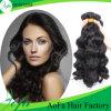da extensão ondulada do cabelo humano da qualidade 7A trama peruana do cabelo humano