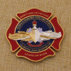 Custom Metal Fire Department Coin for Souvenir