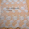 1.4m Ivory Rayon Wedding Lace Fabric für Veil Vl-62179c