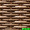 Poly fibre de tissage de meubles en plastique noirs (BM-31631)