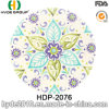 分類されたデザインBPA自由にタケファイバーのサラダプレート(HDP-2076)