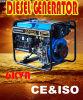 Draagbare Diesel Generator 6kw Genset voor Zuid-Afrika