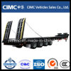 Cimc半4つの車軸低いベッドのトレーラー