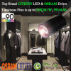 diodo emissor de luz 5-Year Tracklight da Cidadão-ESPIGA da garantia CRI90+ 50W com excitador de Osram