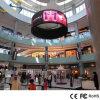 Flexible LED-Bildschirmanzeige farbenreiches P7.62 für Kurven-Zelle