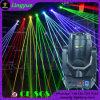 Laser léger du DJ de disco principale mobile de RVB 4W DMX