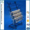 Встречный стоящий стеллаж для выставки товаров номерного знака провода металла (PHY1008)