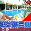 Hotel-Swimmingpool-Projekt-blaue Mosaik-Glas-Mosaik-Fliesen 25X25mm